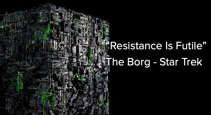 """Resistance Is Futile"""